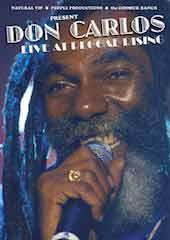 Don Carlos - Live At Reggae Rising