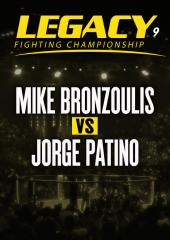 Mike Bronzoulis vs. Jorge Patino