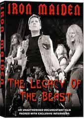 Iron Maiden - Legacy of the Beast Unauthorized