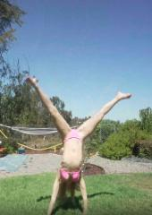 Bikini Gymnastics