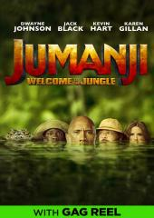 Jumanji: Welcome to the Jungle with Gag Reel