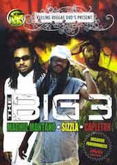 Big 3: Machel Montano, Sizzla, Capelton