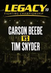 Carson Beebe vs. Tim Snyder