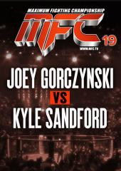 Joey Gorczynski vs. Kyle Sandford
