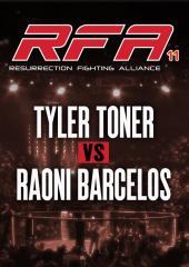 Tyler Toner vs. Raoni Barcelos