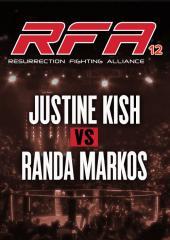 Justine Kish vs. Randa Markos
