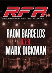 Raoni Barcelos vs. Mark Dickman