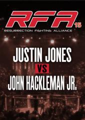 Justin Jones vs. John Hackleman Jr.