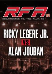 Ricky Legere Jr. vs. Alan Jouban