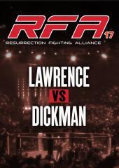 Justin Lawrence vs. Mark Dickman