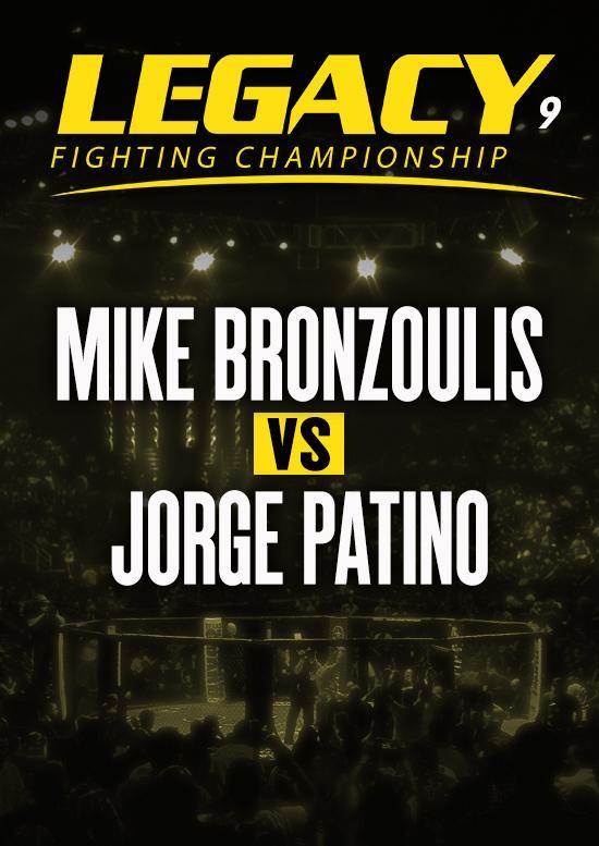 Mike Bronzoulis vs. Jorge Patino