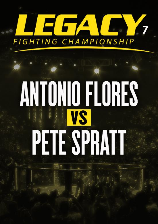 Antonio Flores vs. Pete Spratt