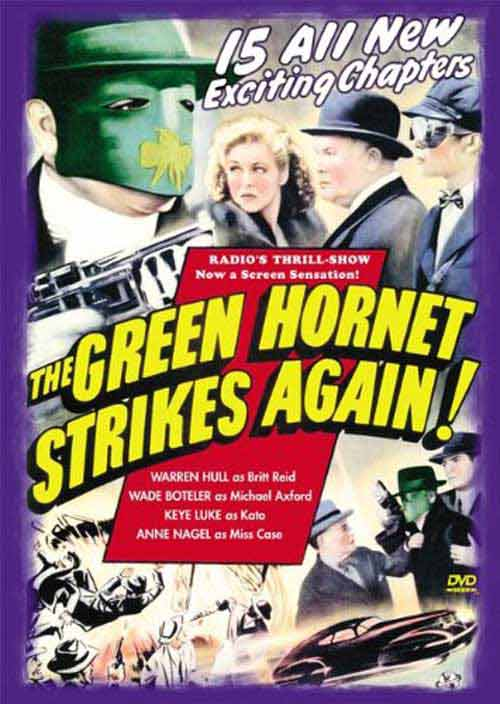 The Green Hornet Strikes Again S1 E1
