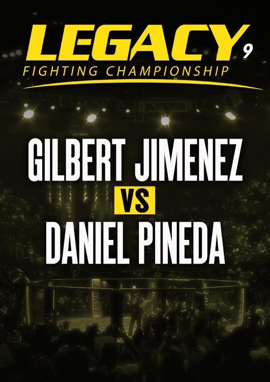 Gilbert Jimenez vs. Daniel Pineda