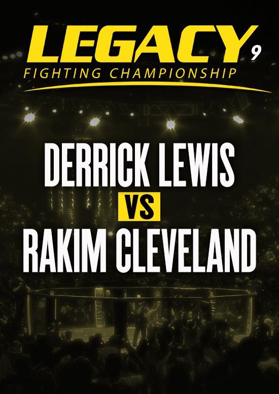 Derrick Lewis vs. Rakim Cleveland