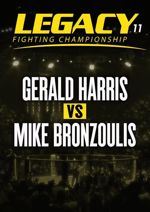 Gerald Harris vs. Mike Bronzoulis
