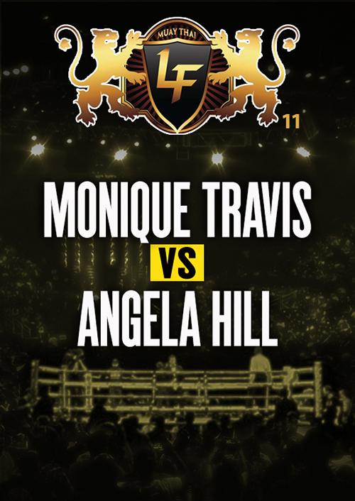 Monique Travis vs. Angela Hill