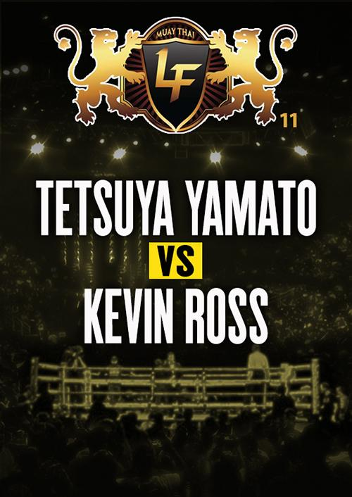 Tetsuya Yamato vs. Kevin Ross
