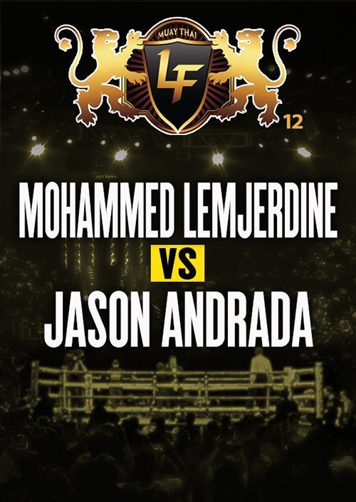 Mohammed Lemjerdine vs. Jason Andrada