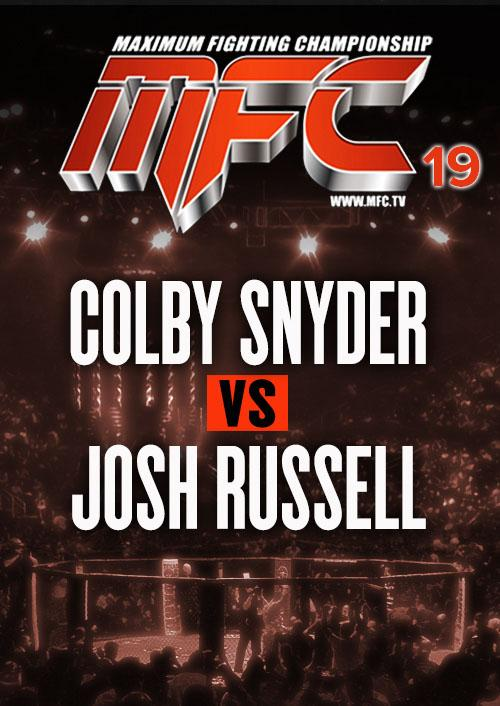 Colby Snyder vs. Josh Russell
