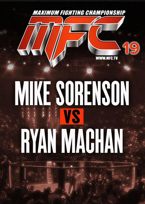 Mike Sorenson vs. Ryan Machan