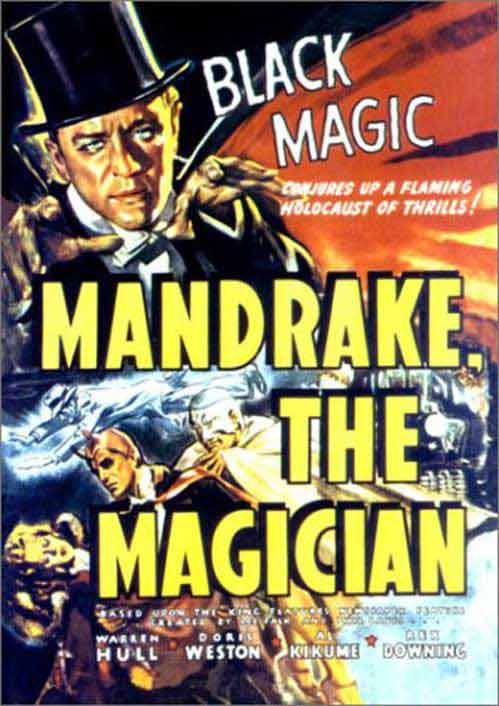 Shadow on the Wall - Mandrake the Magician S1 E1