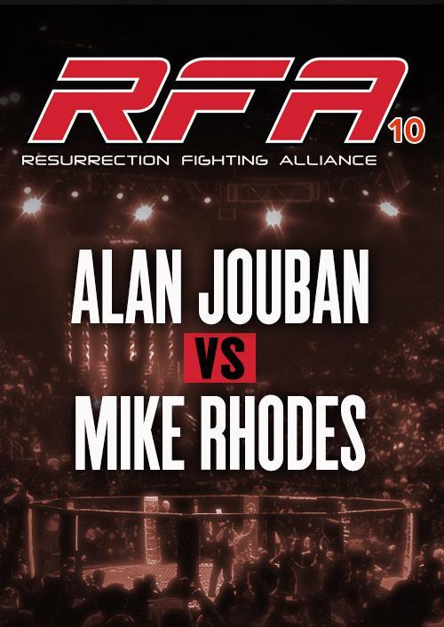 Alan Jouban vs. Mike Rhodes