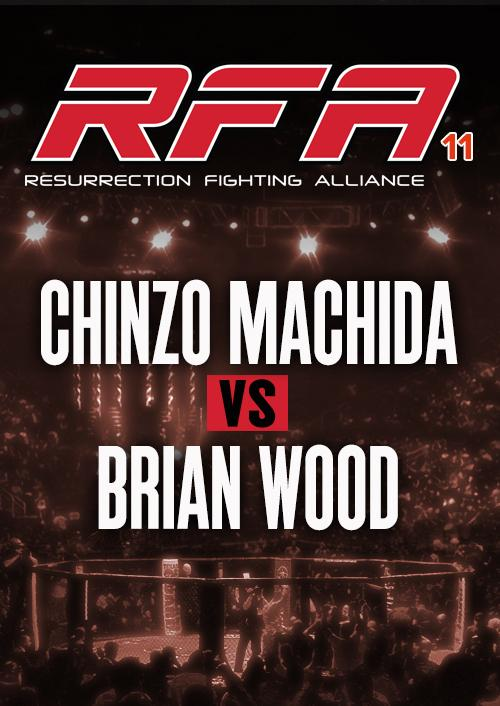 Chinzo Machida vs. Brian Wood