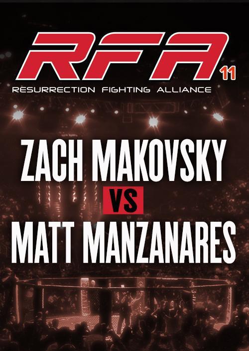 Zach Makovsky vs. Matt Manzanares