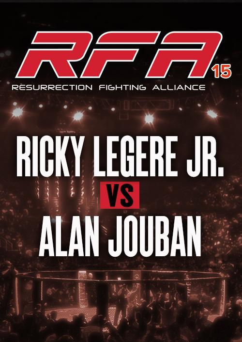 Ricky Legere Jr. vs. Alan Jouban