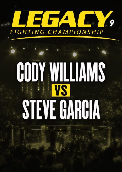 Cody Williams vs. Steve Garcia