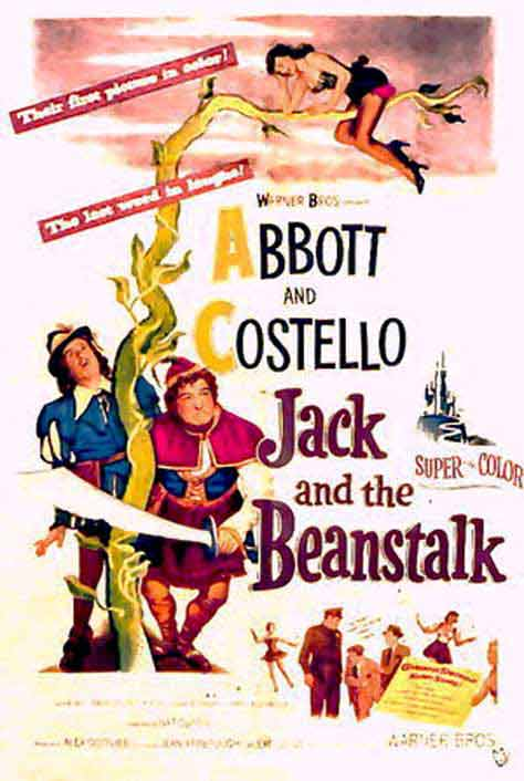 Abbott and Costello's Jack and The Beanstalk